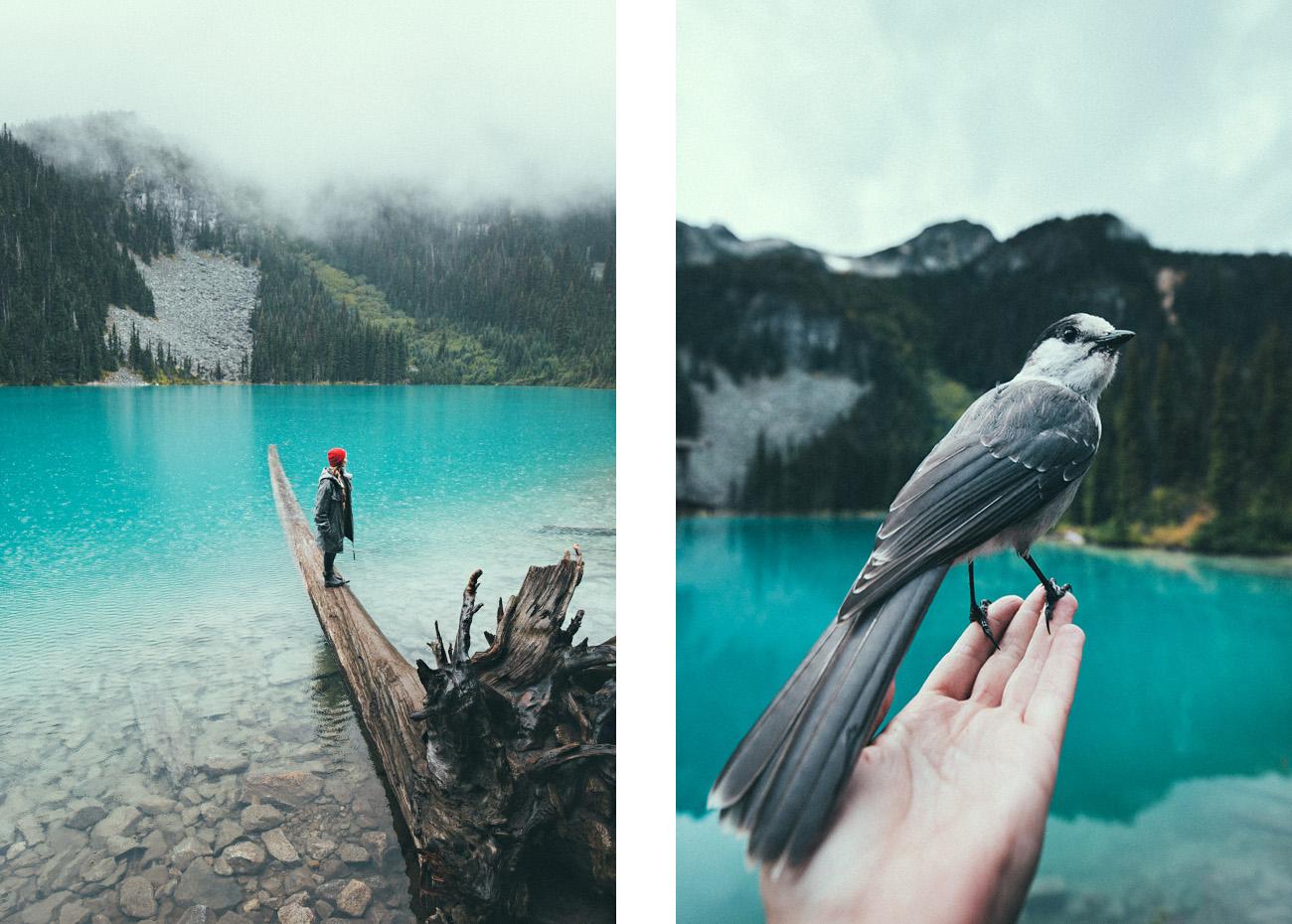 Middle Lake, Joffre Lakes Provincial Park, Kanada