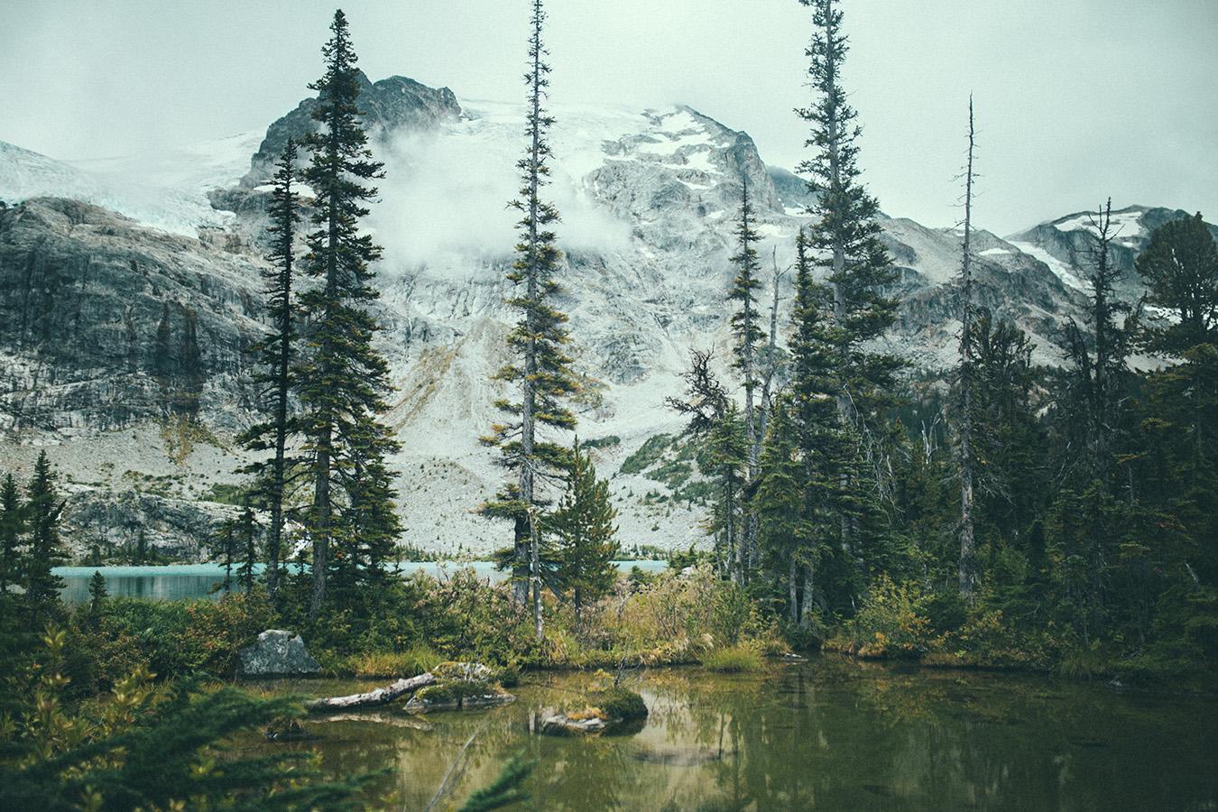 Upper Lake Trail, Joffre Lakes Provincial Park, Kanada