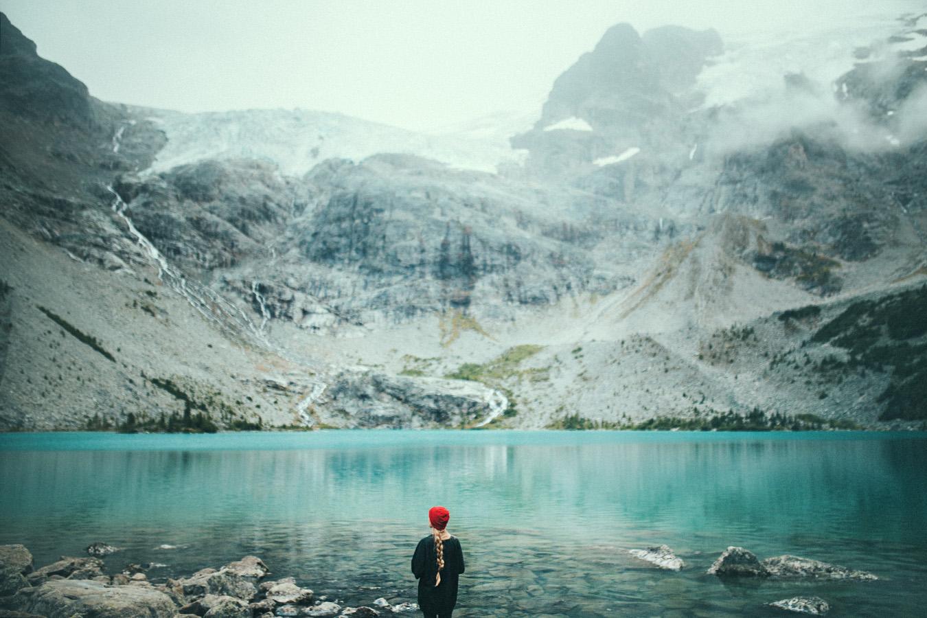 Upper Lake, Joffre Lakes Provincial Park, Kanada