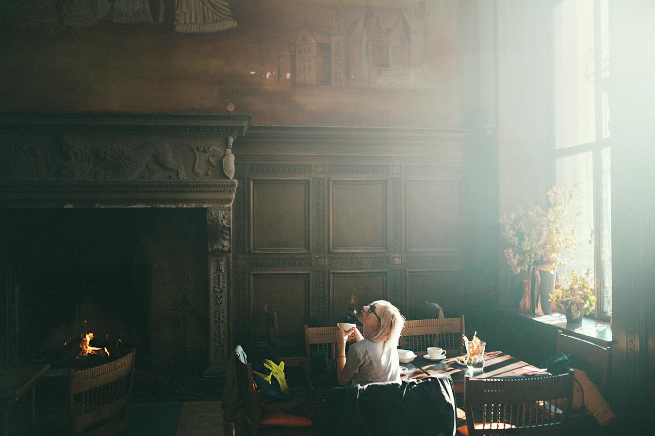Kawiarnia w pałacu