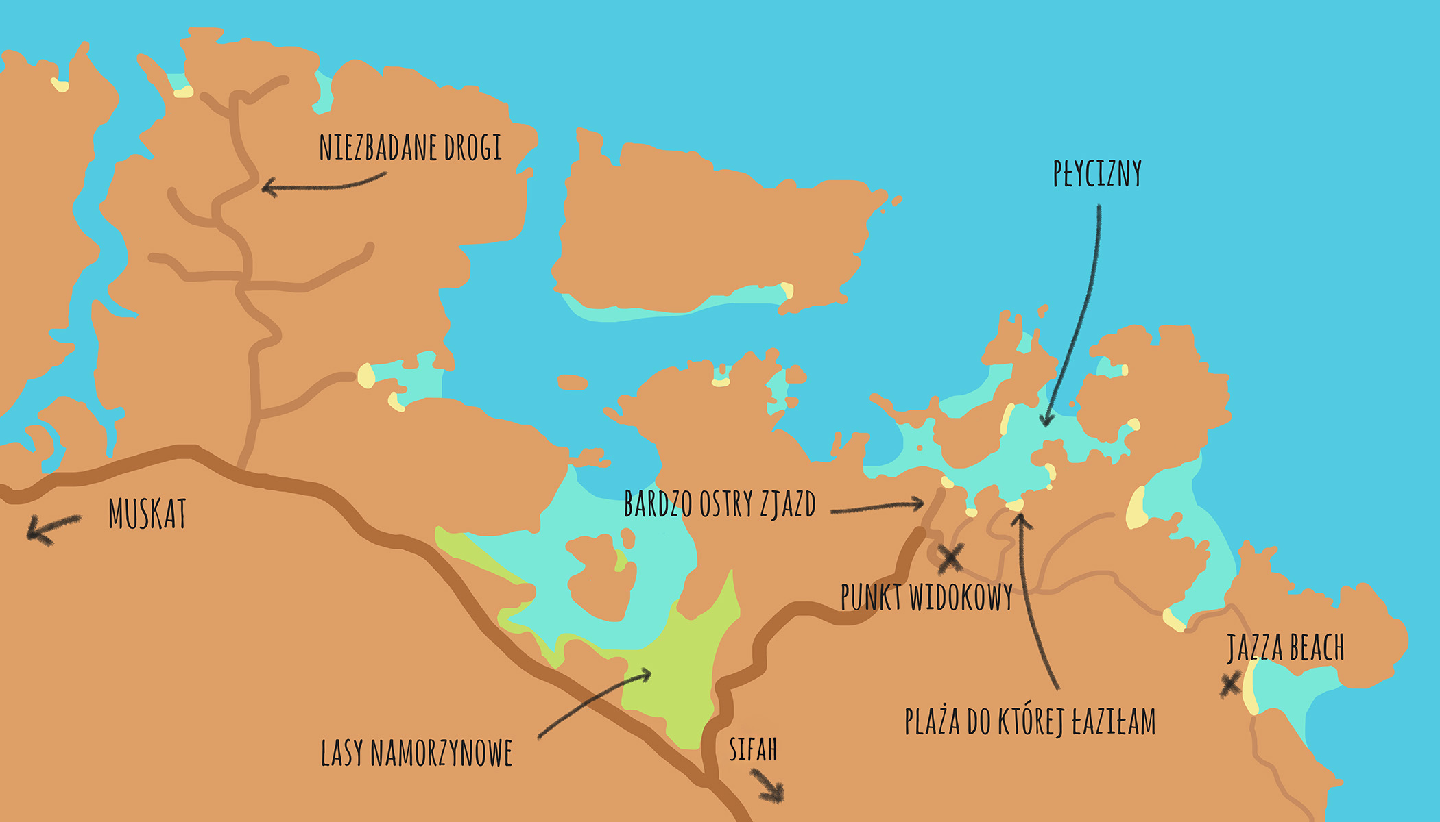Mapa Bandar Al Khairan