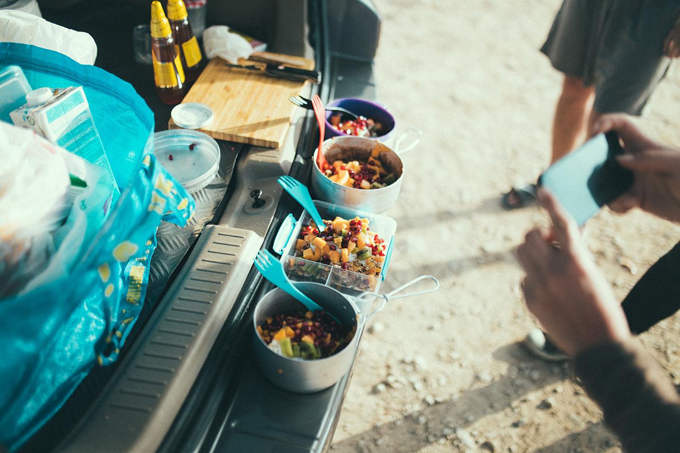 Jedzenie w podróży, wypasione owsianki!