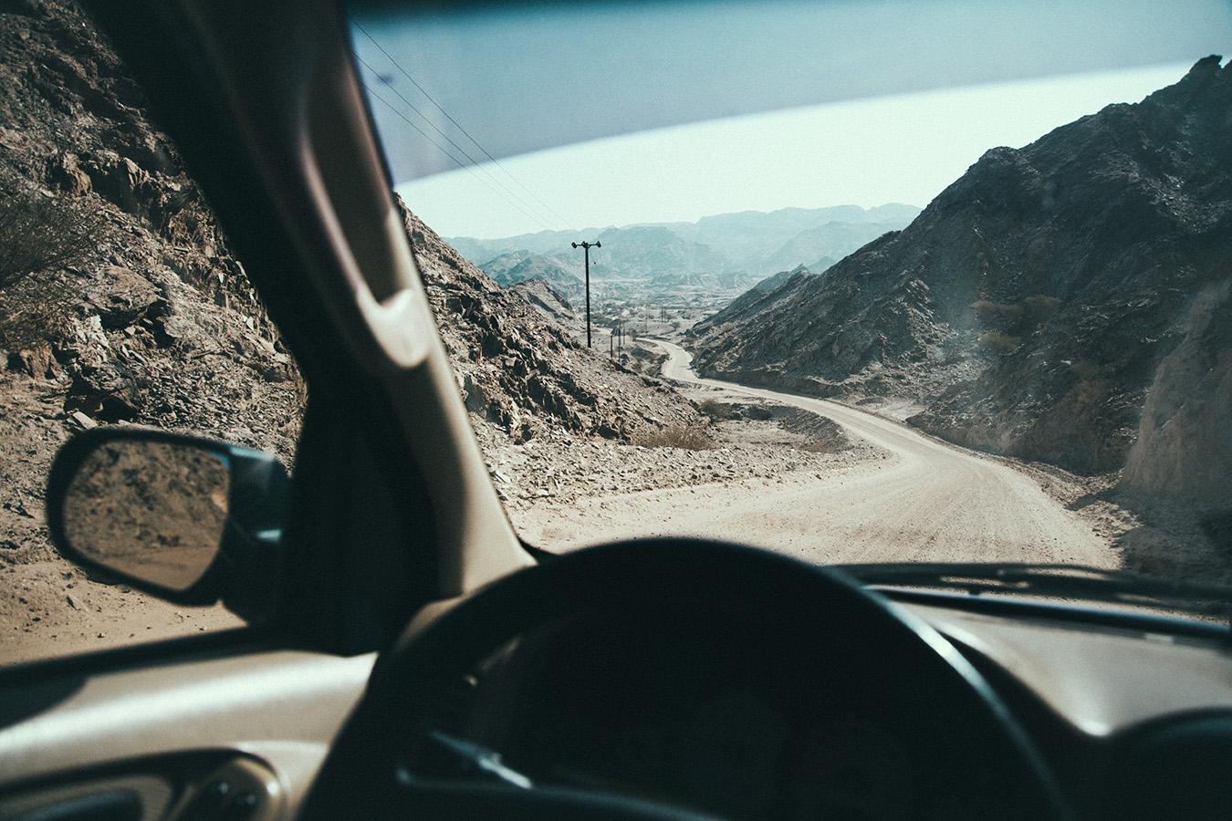 Droga w Omanie
