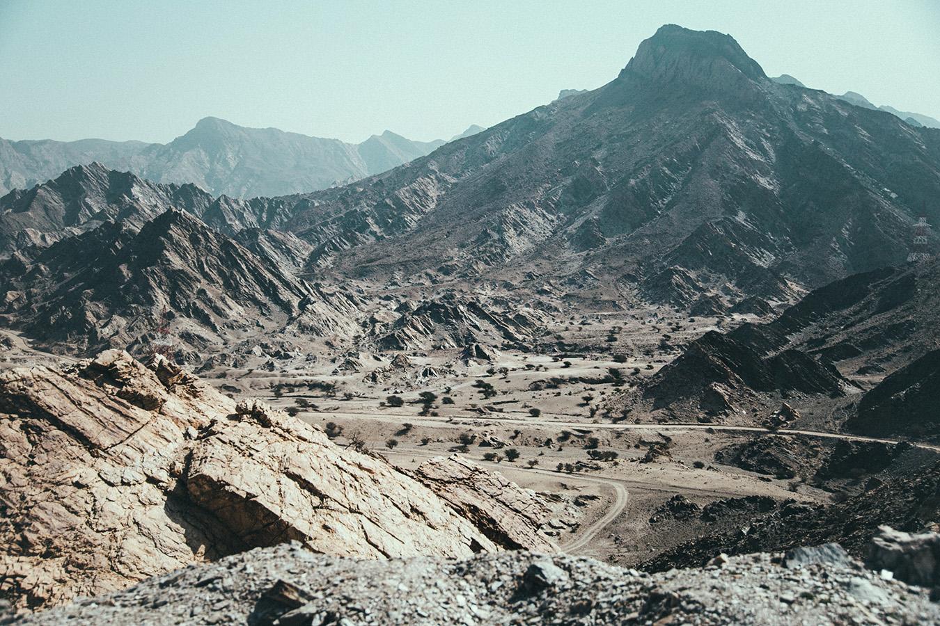 Krajobraz Omanu