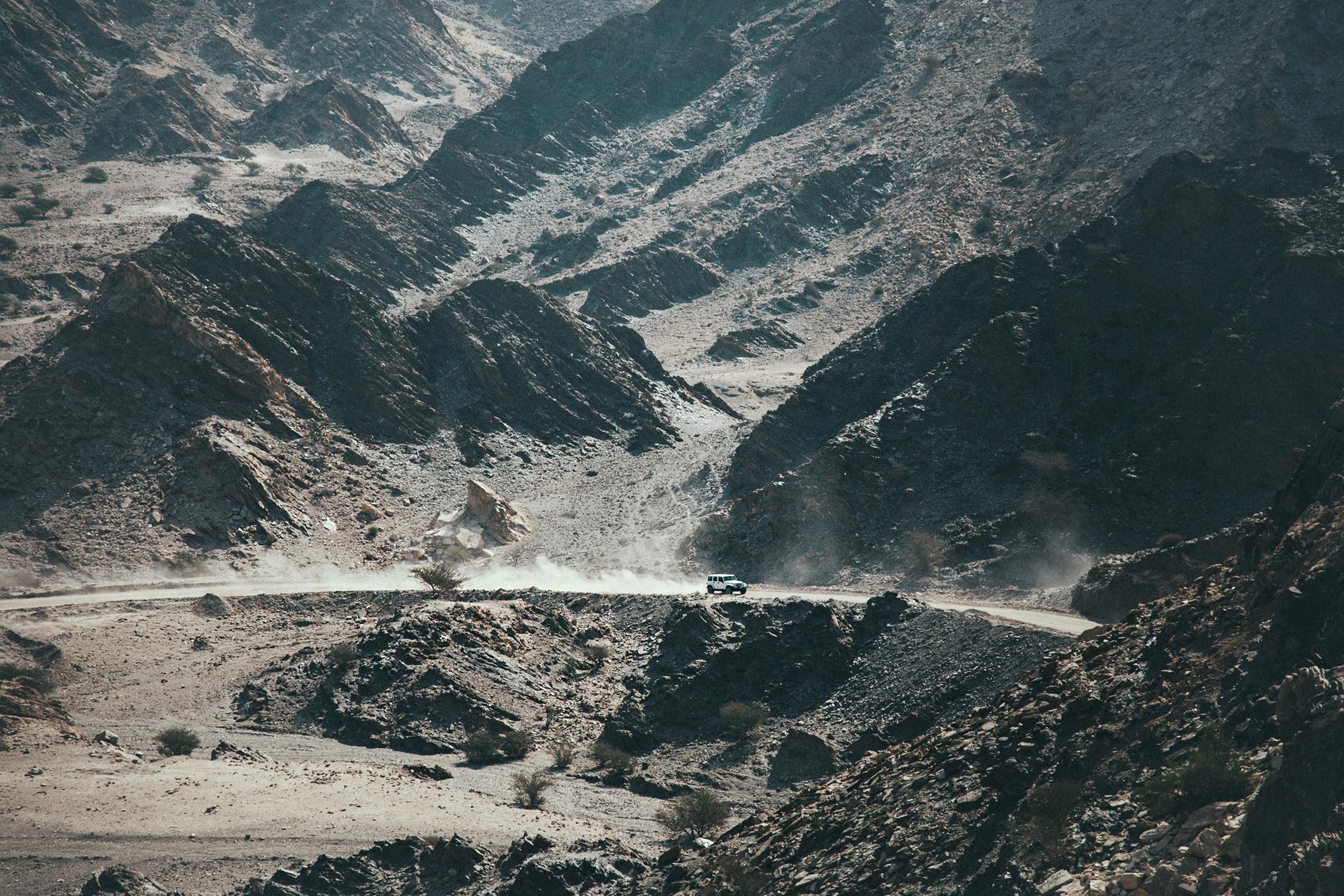 Drogi w Omanie