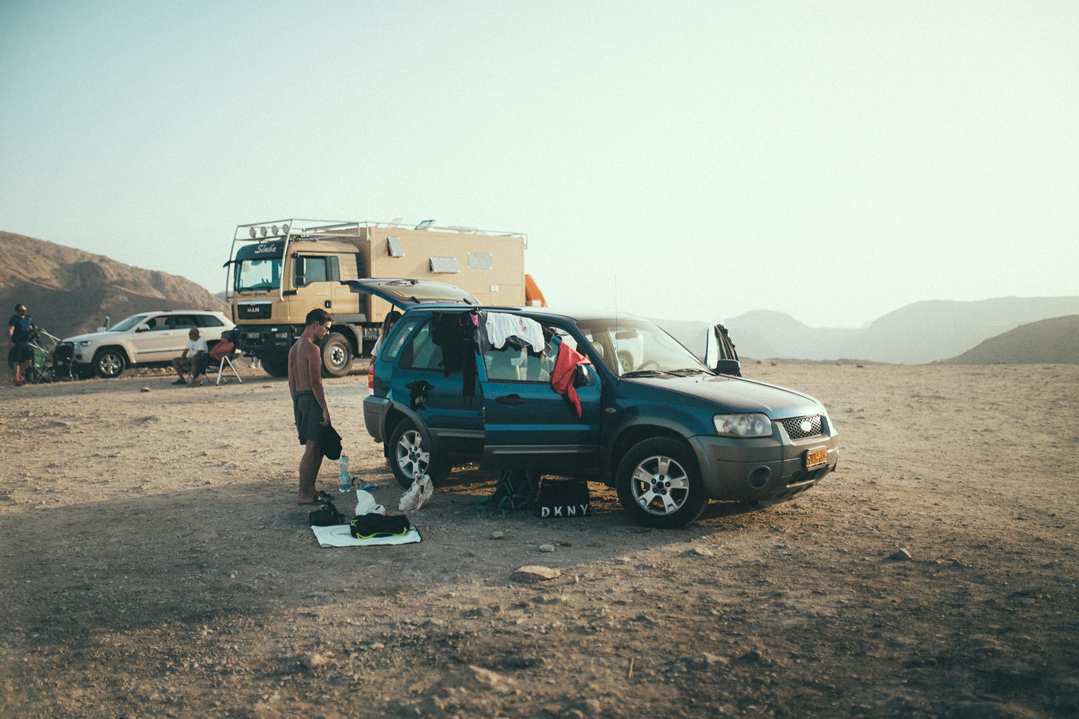 Bandar Al Khairan, Oman, główny punkt widokowy