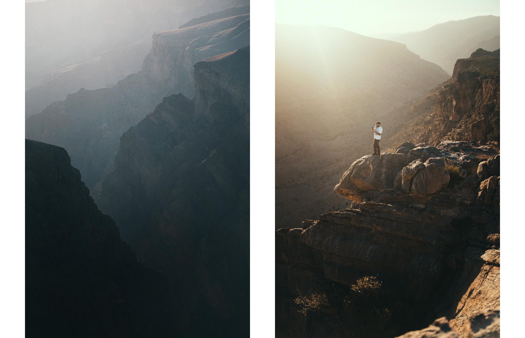 Kanion na Jabal Akhdar, Oman