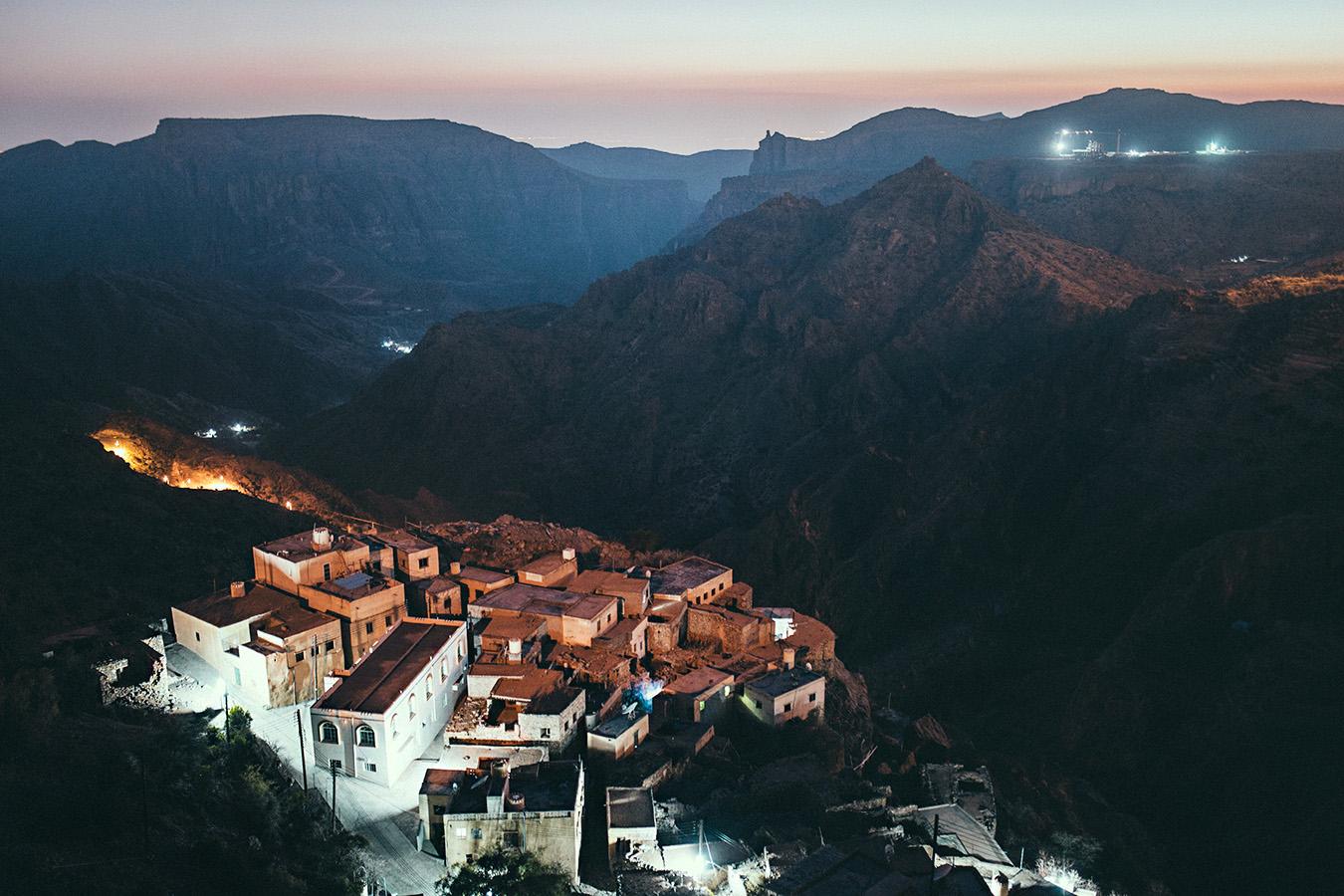 Punkt widokowy, Jabal Akhdar, Oman