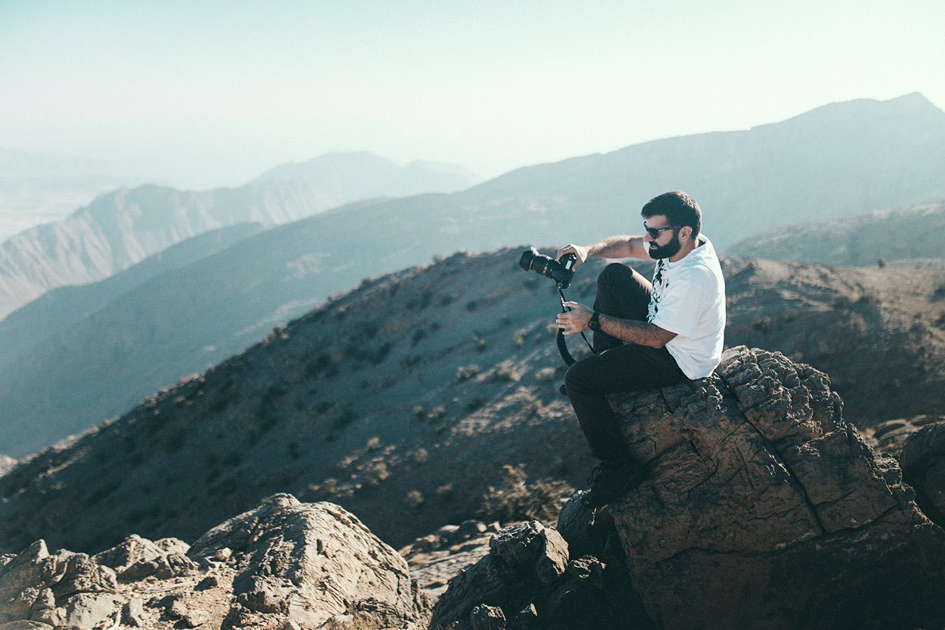 Najwyższy punkt Jabal Akhdar, Oman