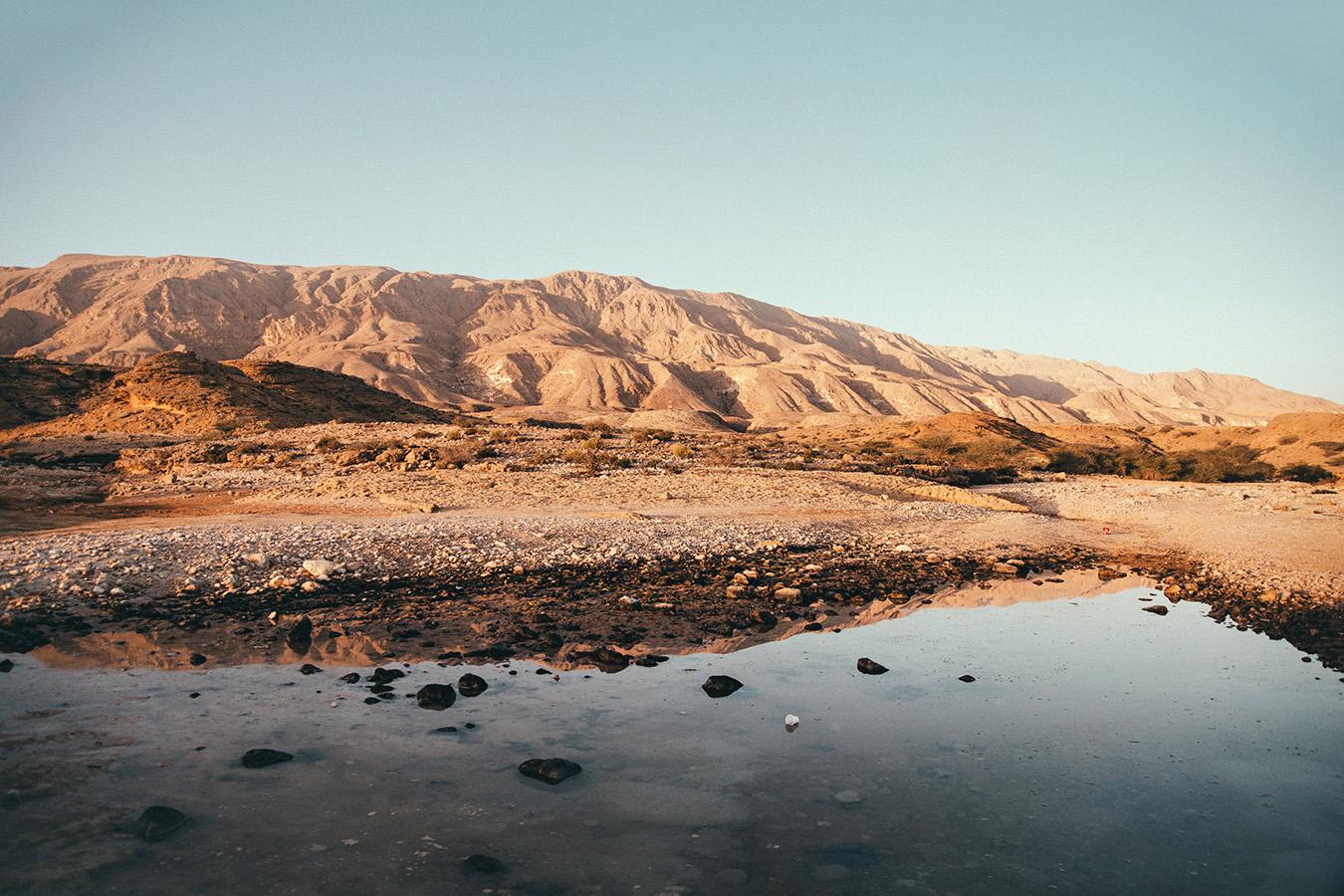 krajobraz w Omanie