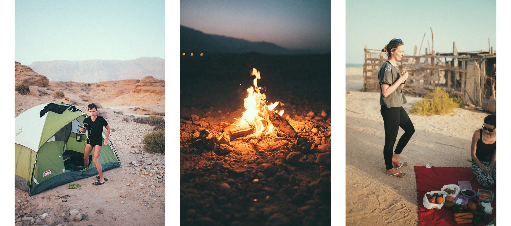 biwakowanie w Omanie