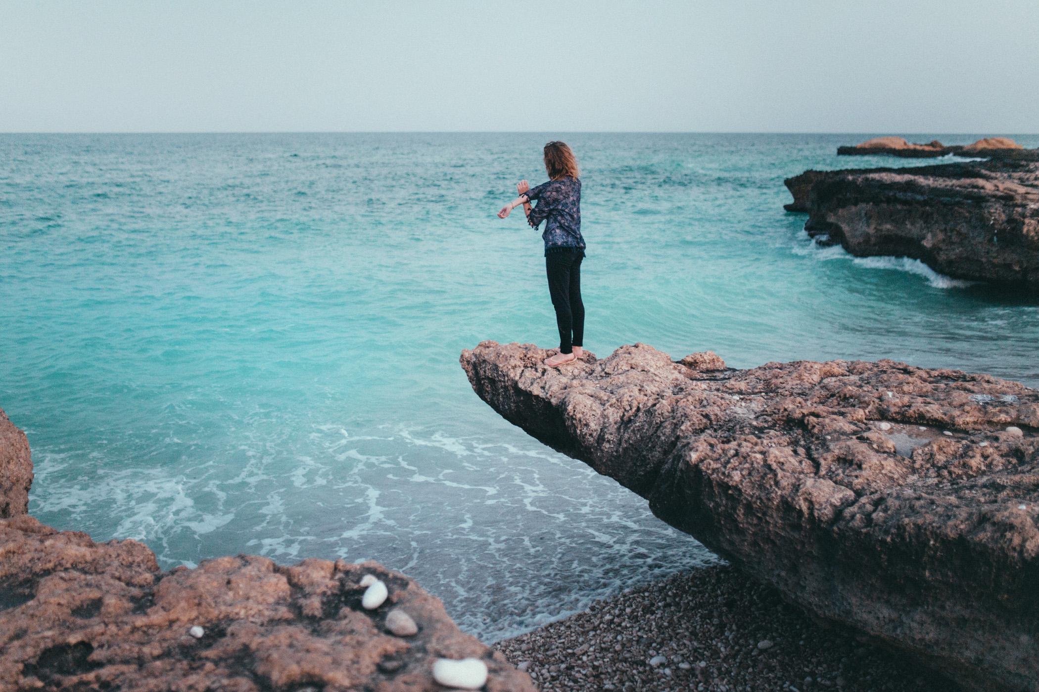White Beach Oman