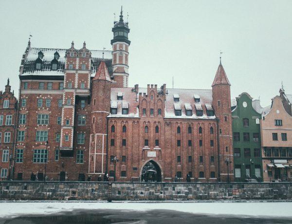 Gdańsk w zimie