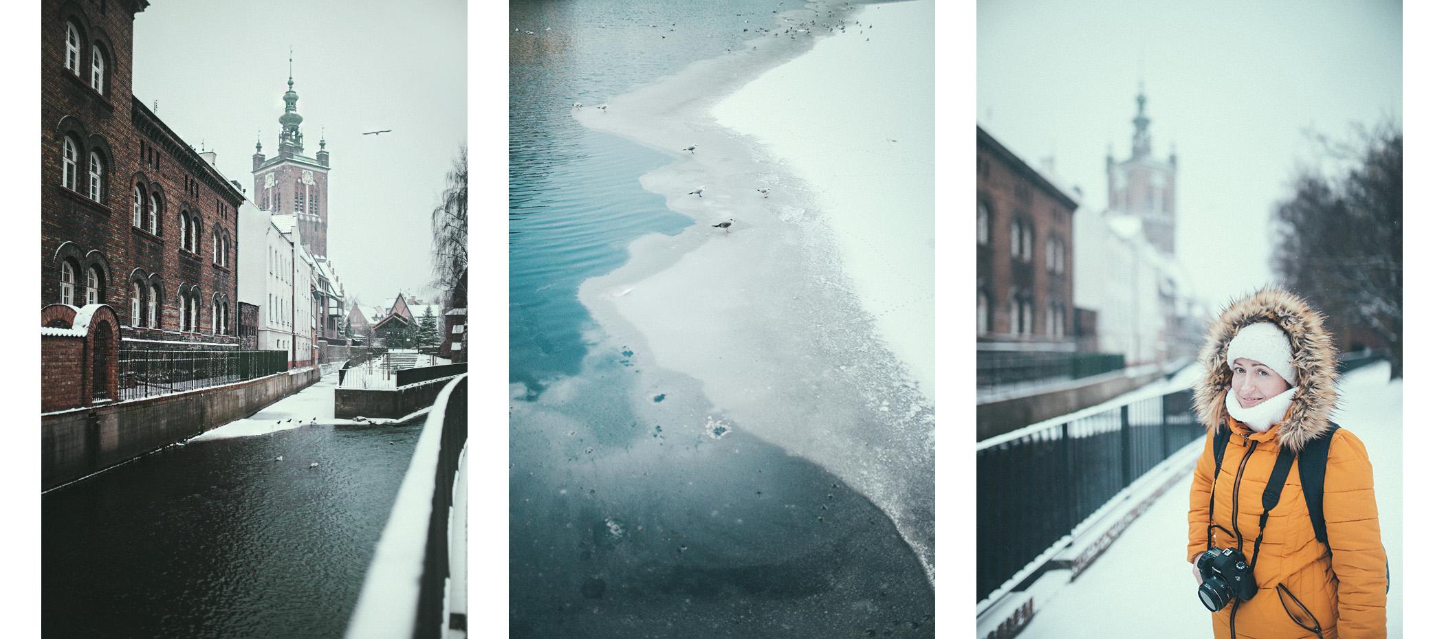 Gdańsk zimą