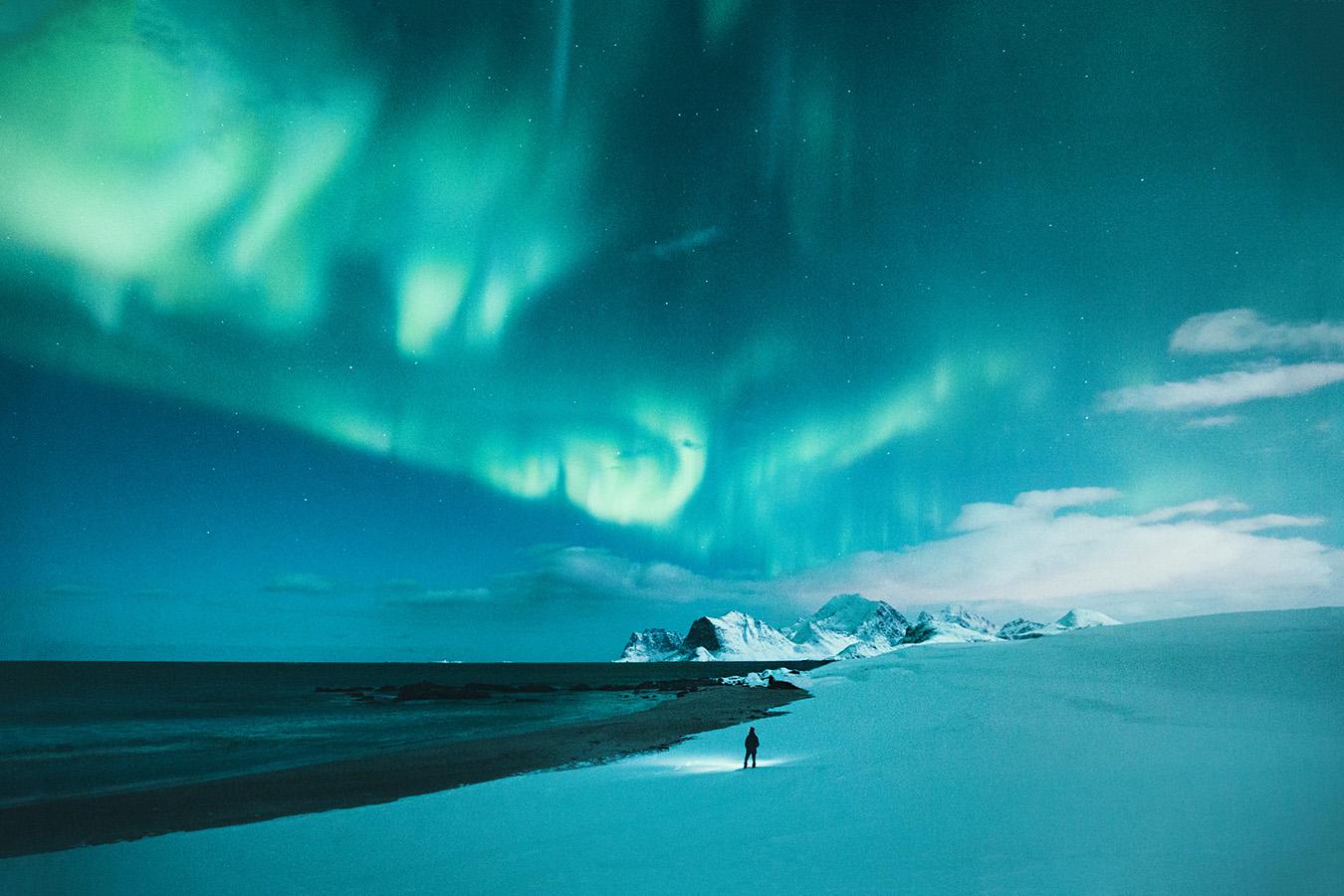 Zorza polarna, Lofoty