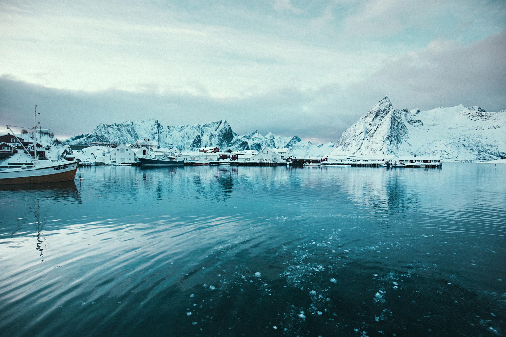 port, Hamnøya