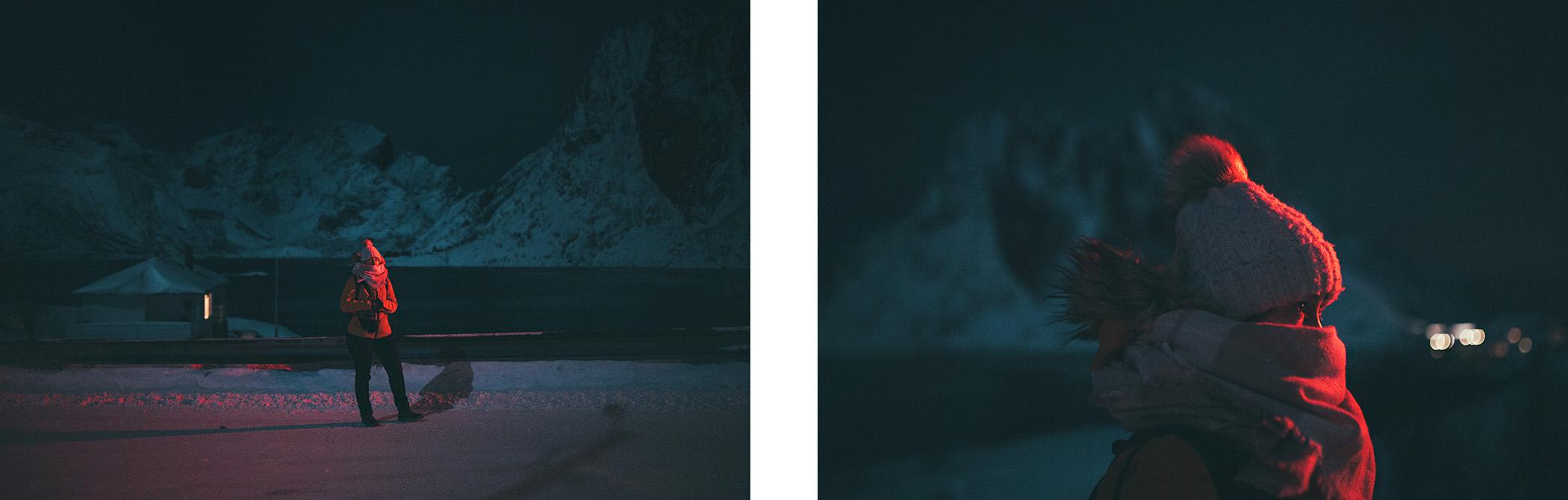 nocne spacery, Lofoty