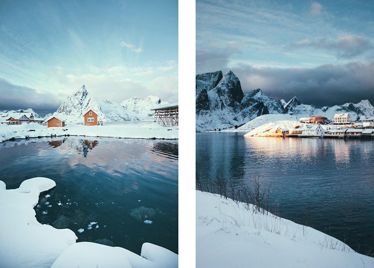 Sakrisøya, Lofoty