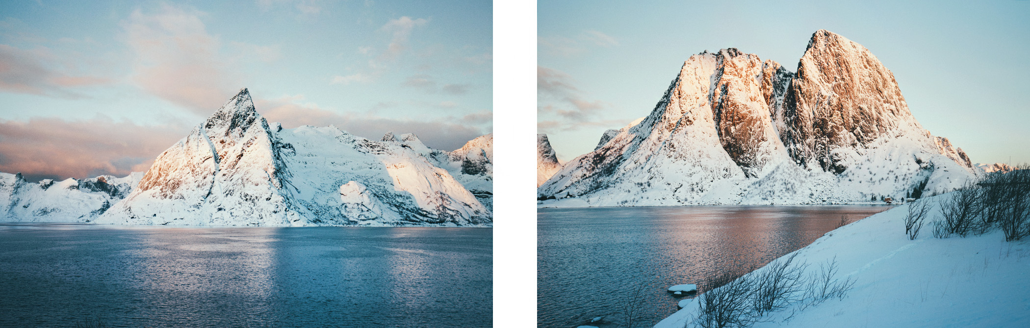 Lofoty, góry