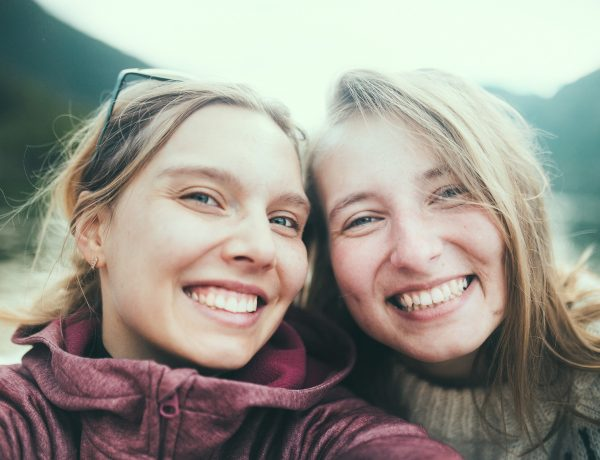 Selfie z Magdą