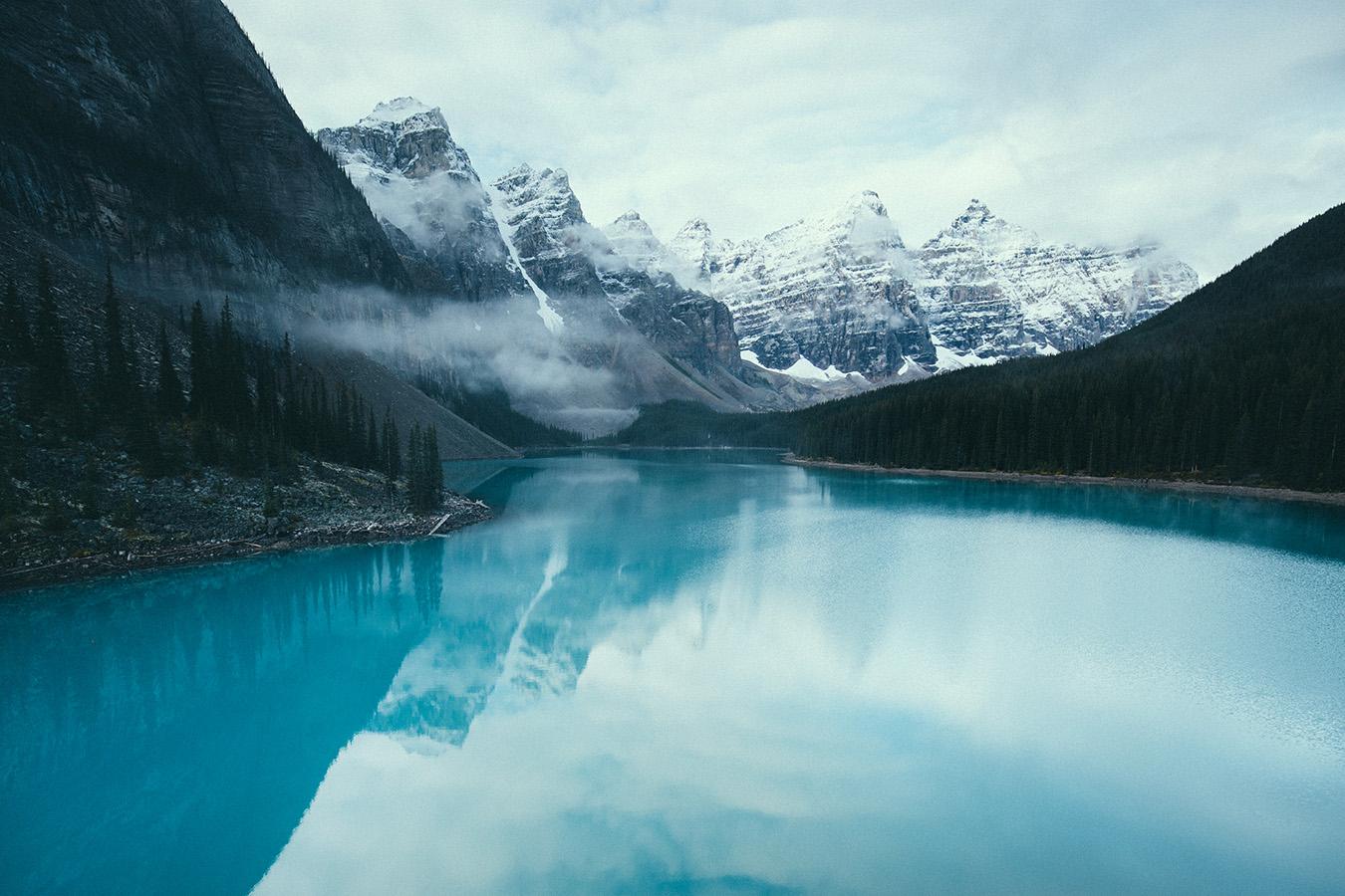 Lake Moraine, Kanada