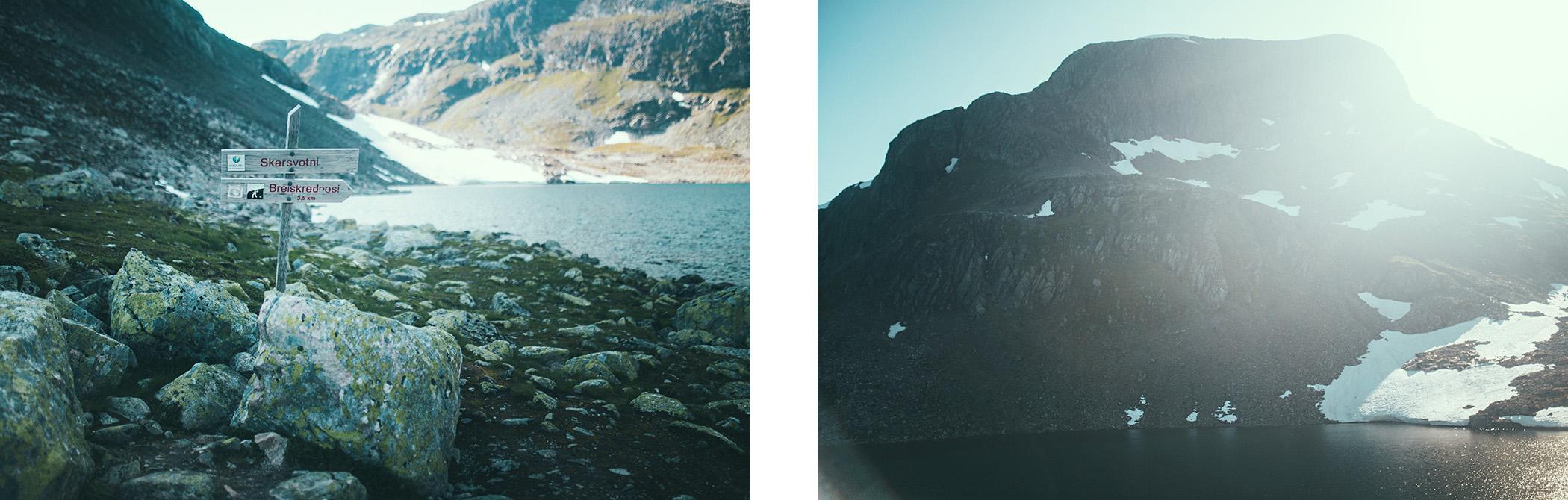Breiskrednosi, szlak, Norwegia