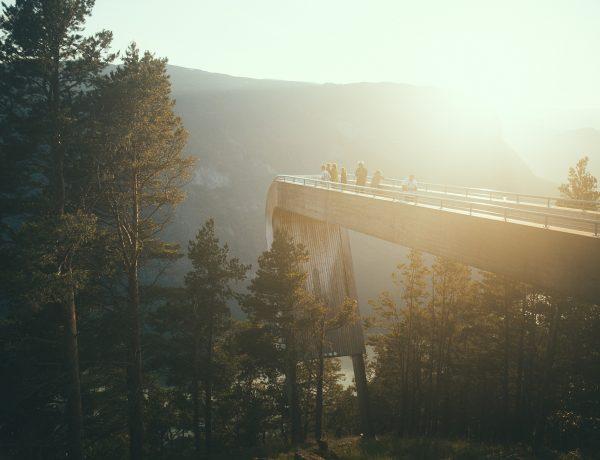 Stegastein, Snow Road, Aurlandsfjellet