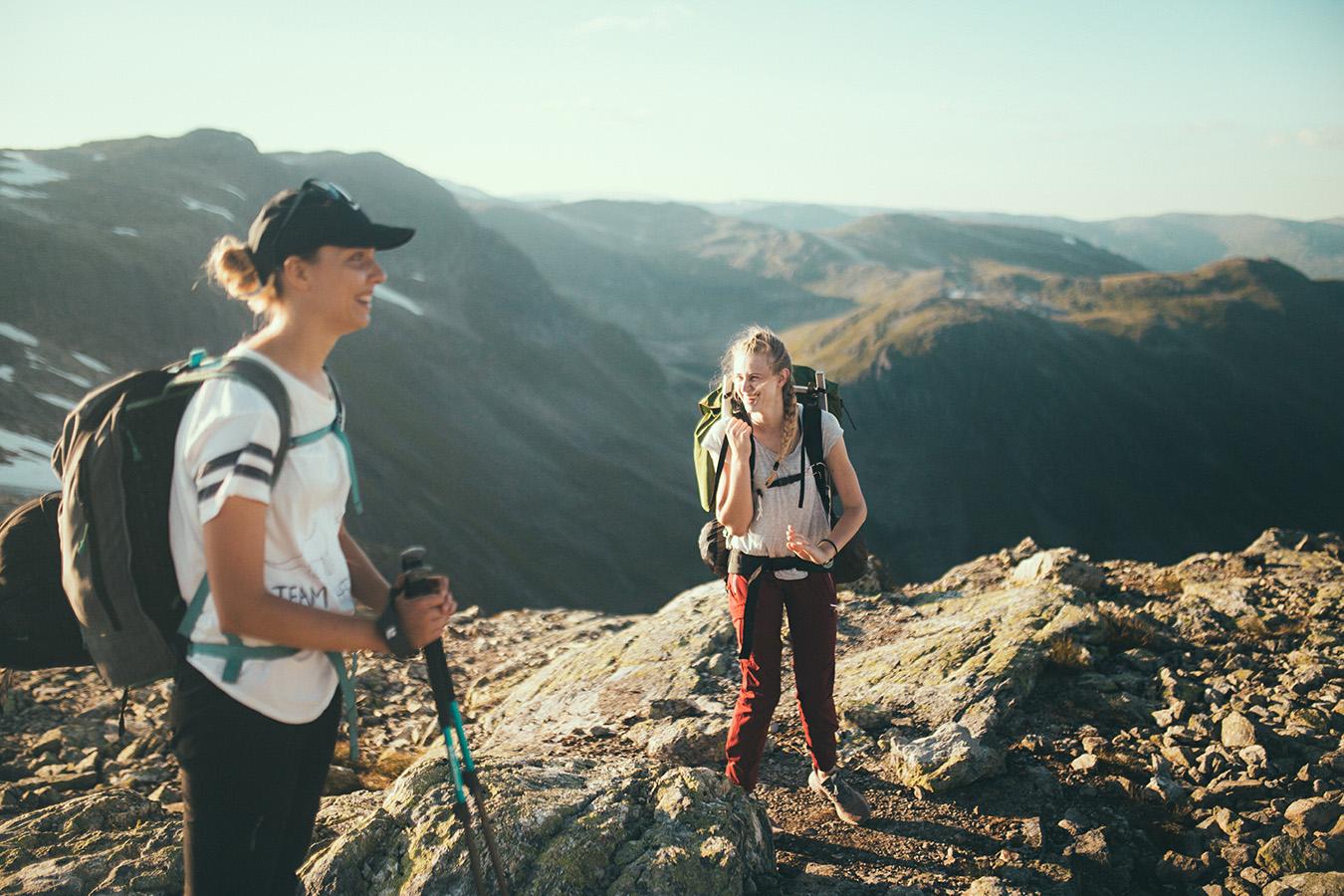 Hike na Bakkanosi, Nærøyfjord, Norwegia