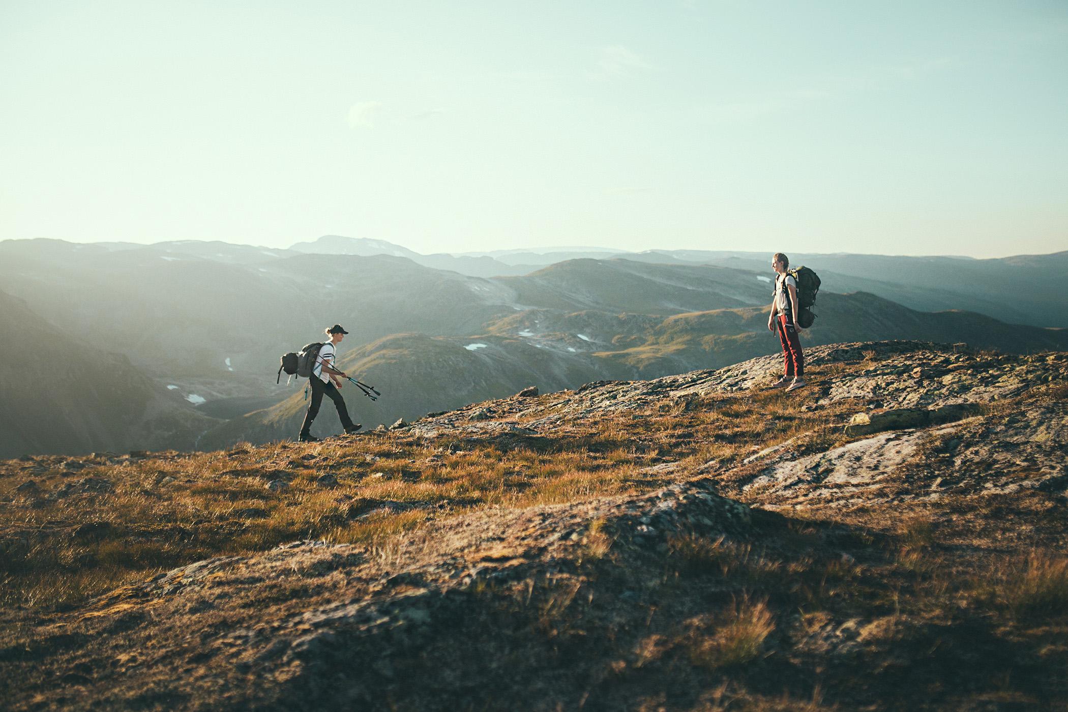 Hike Bakkanosi, Nærøyfjord, Norwegia