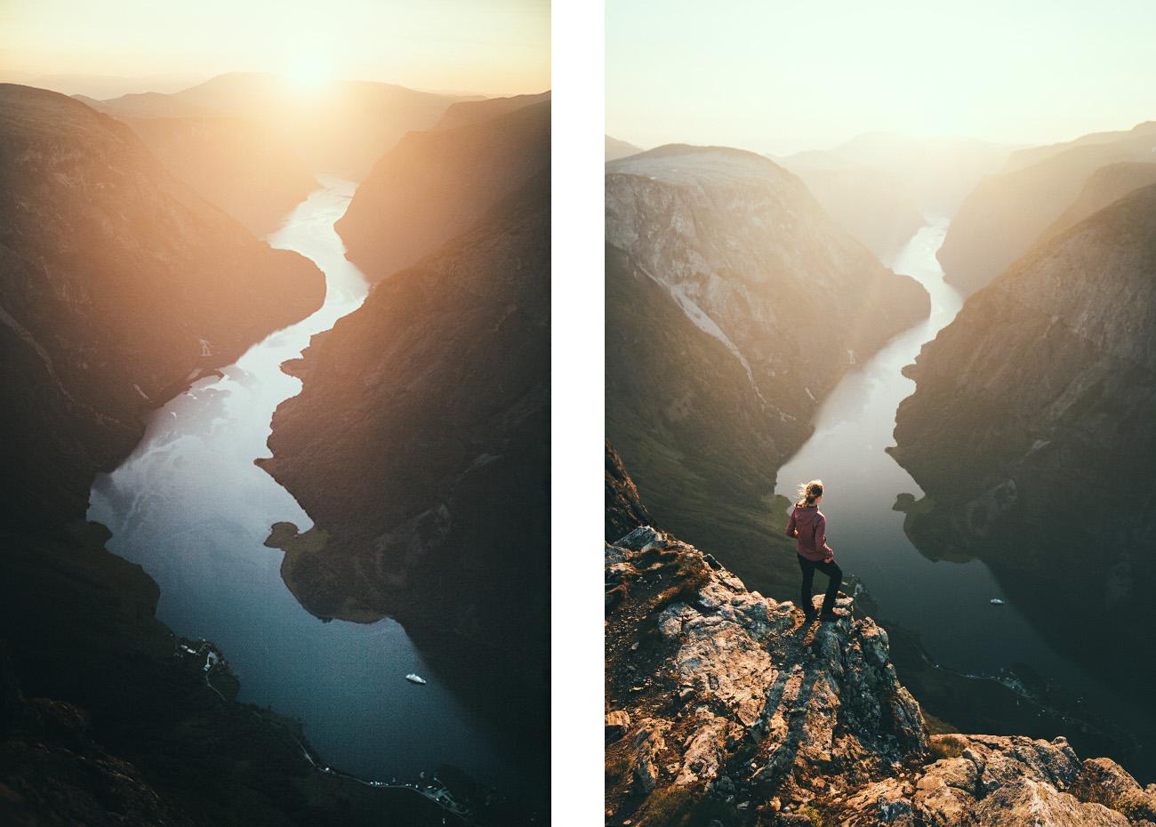 Bakkanosi, Nærøyfjord, Norwegia