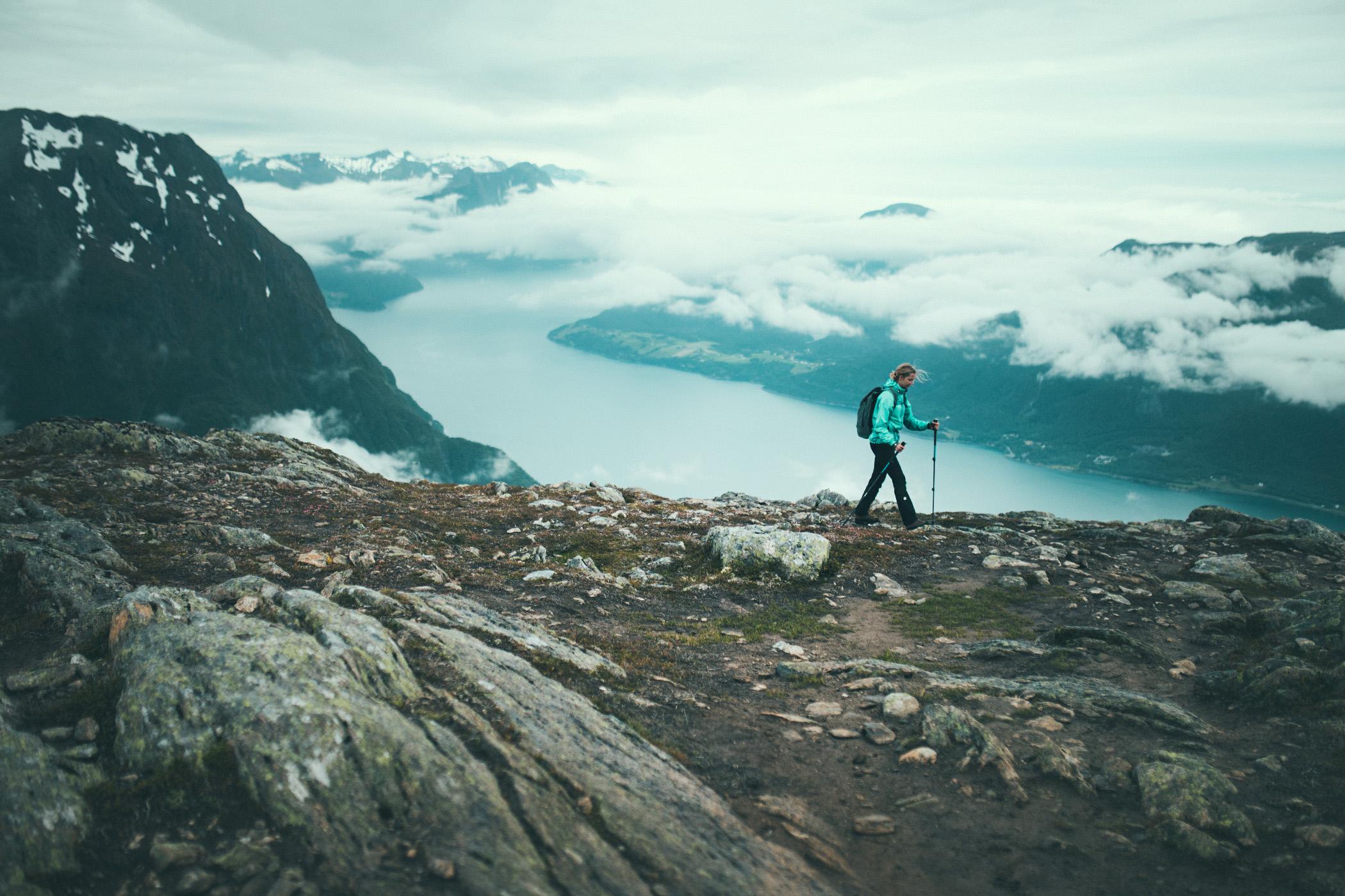szlak Romsdalseggen, Norwegia