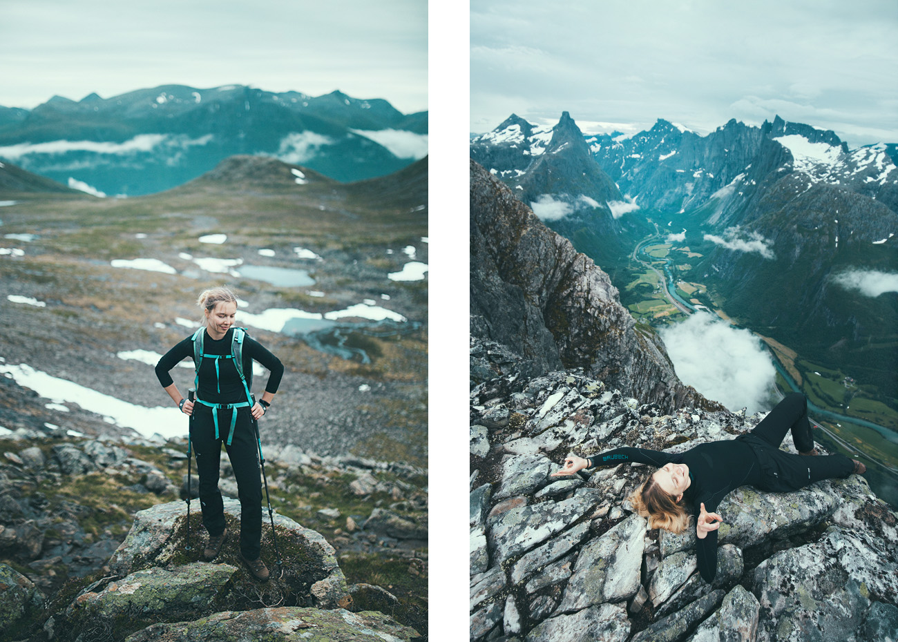 Romsdalseggen, Norwegia