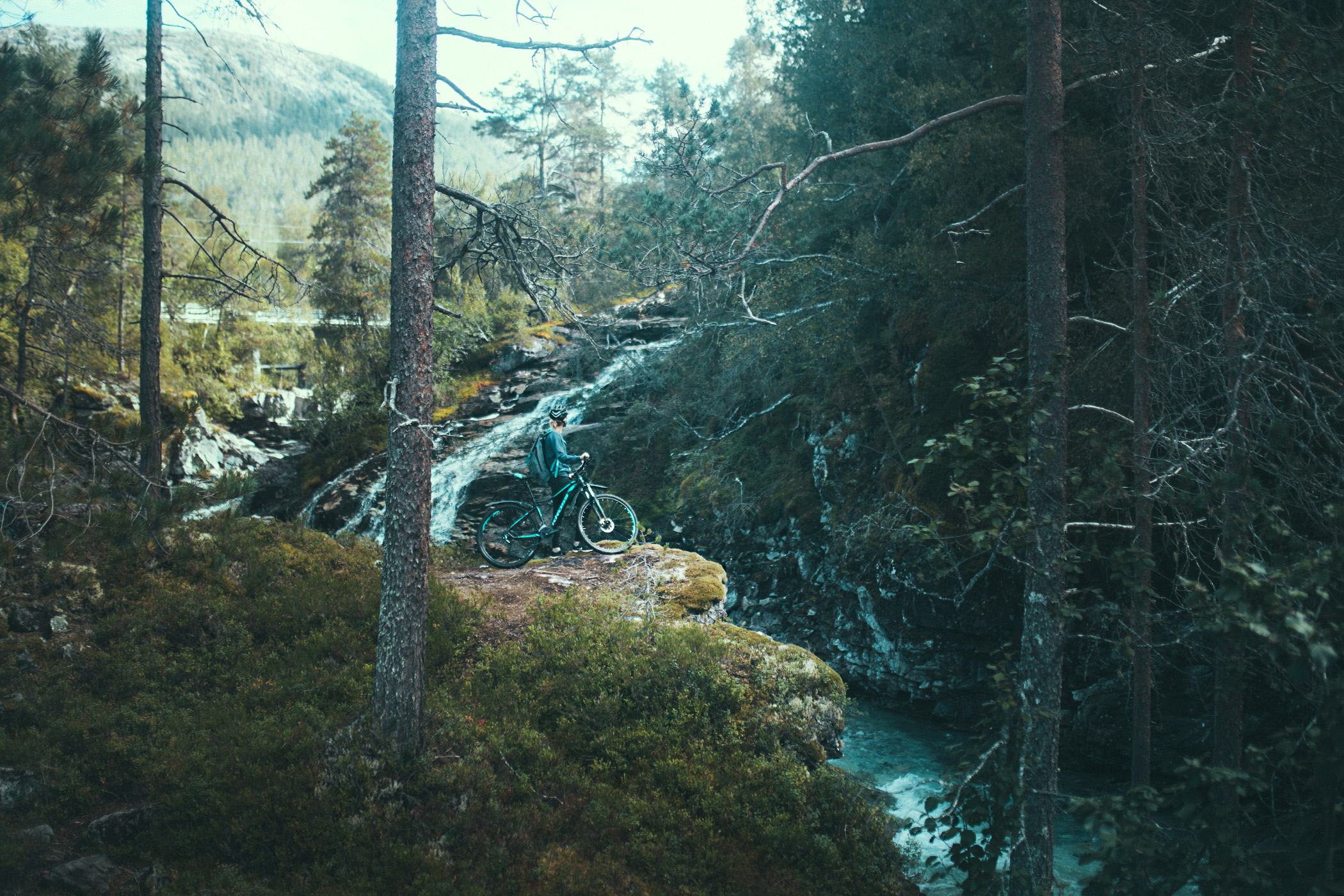 Blue River, Kross Lea, Norwegia