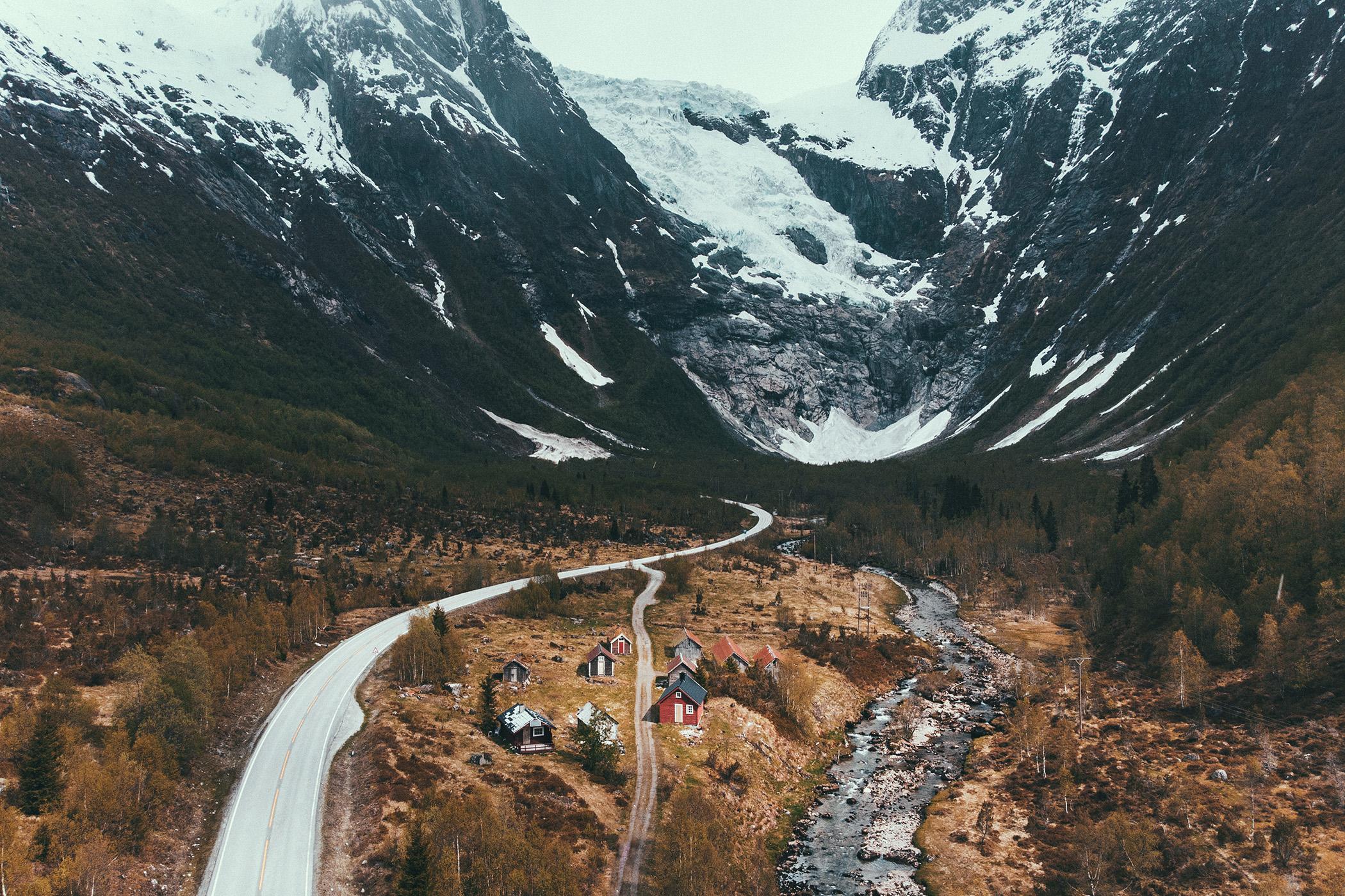 Bøyabreen, Norwegia