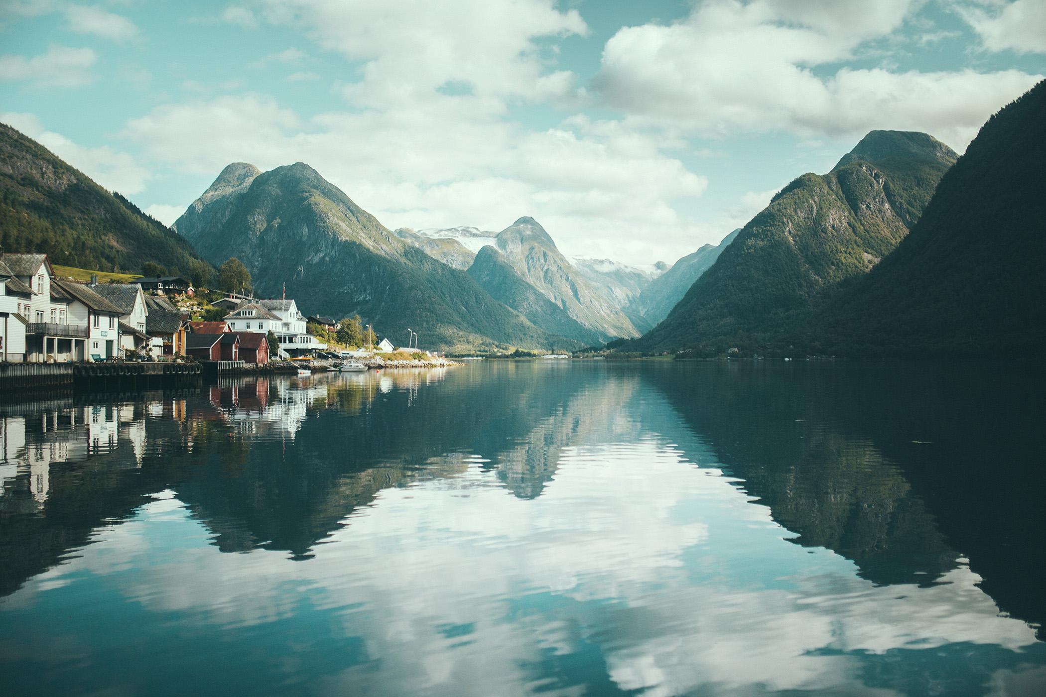 Fjærland, Norwegia