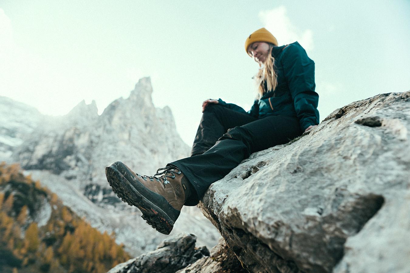 Dolomity, Lago di Sorapis, Meindl