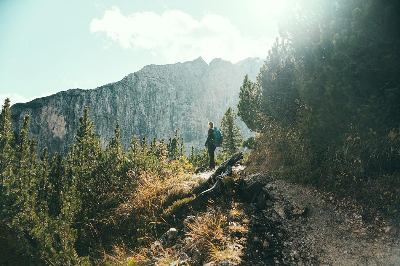 Dolomity, Lago di Sorapis, szlak