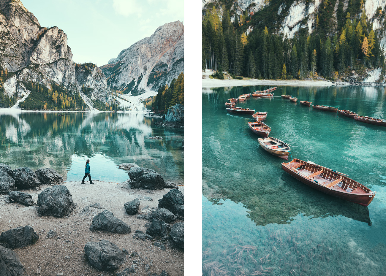 Dolomity, Lago di Braies