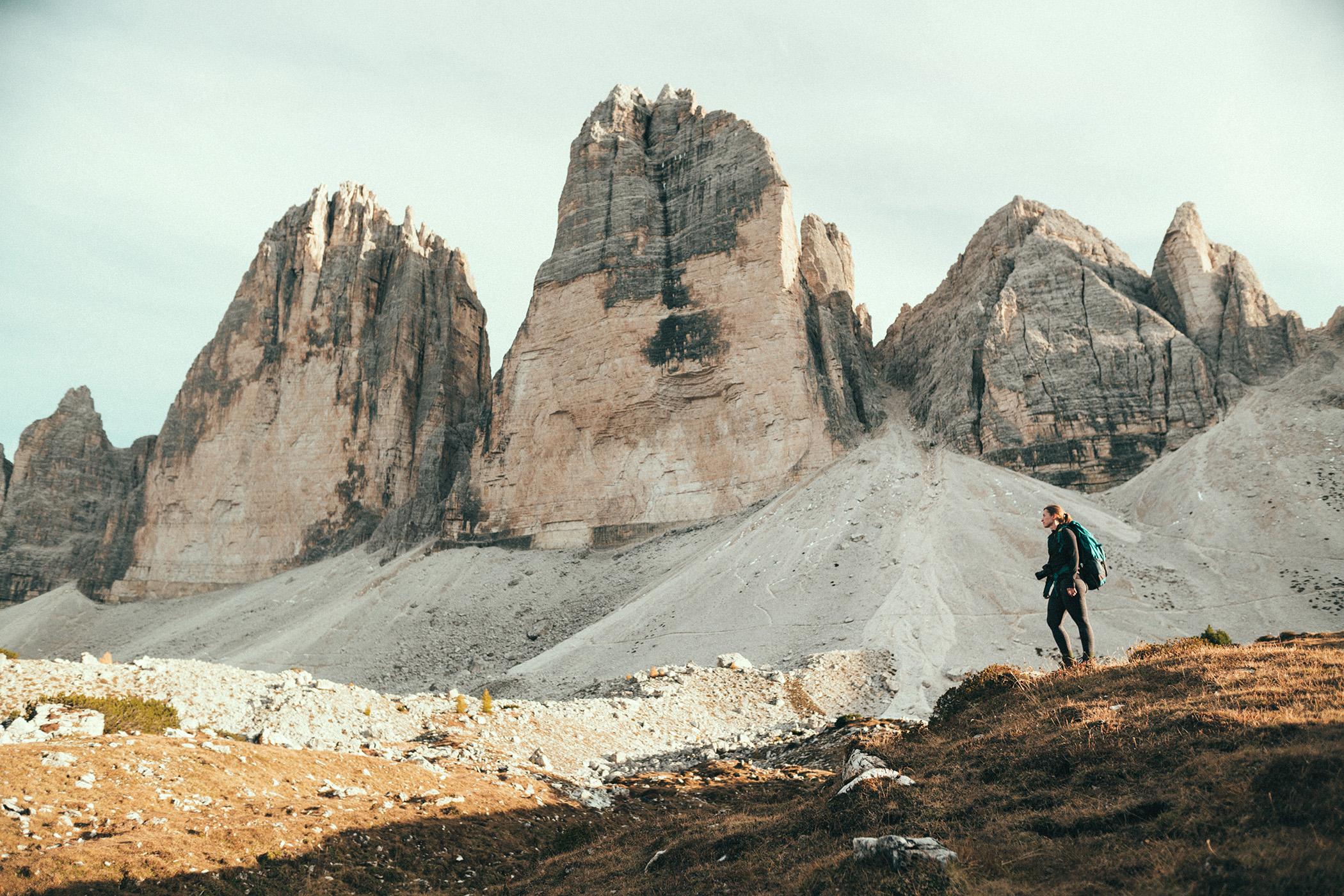 Dolomity, Tre Cime
