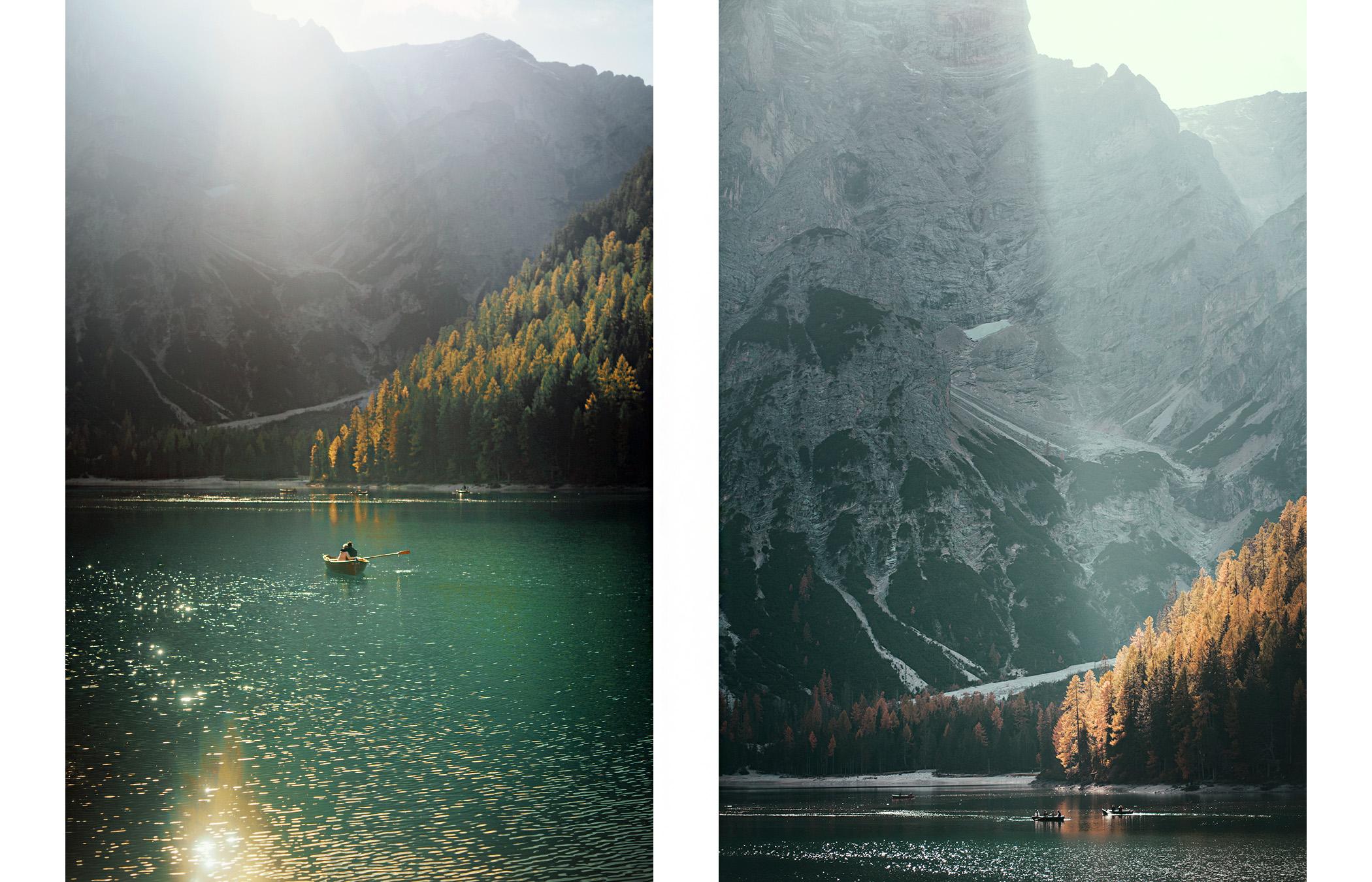 Dolomity, Lago di Braies, Pragser Wildsee
