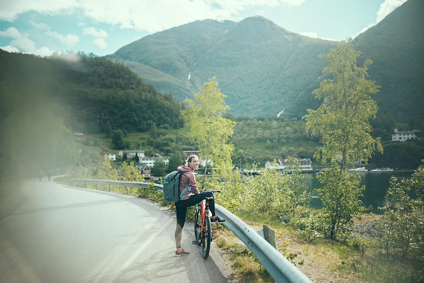 droga rowerowa, Flåm
