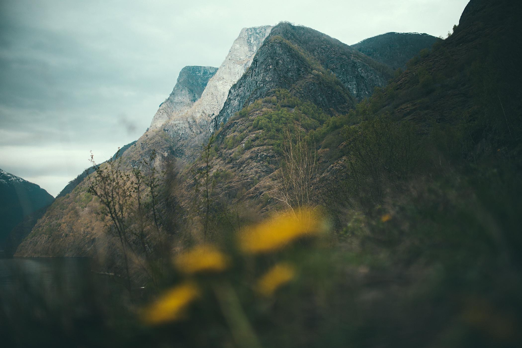 góry Aurlandsfjordu, Skjerdal