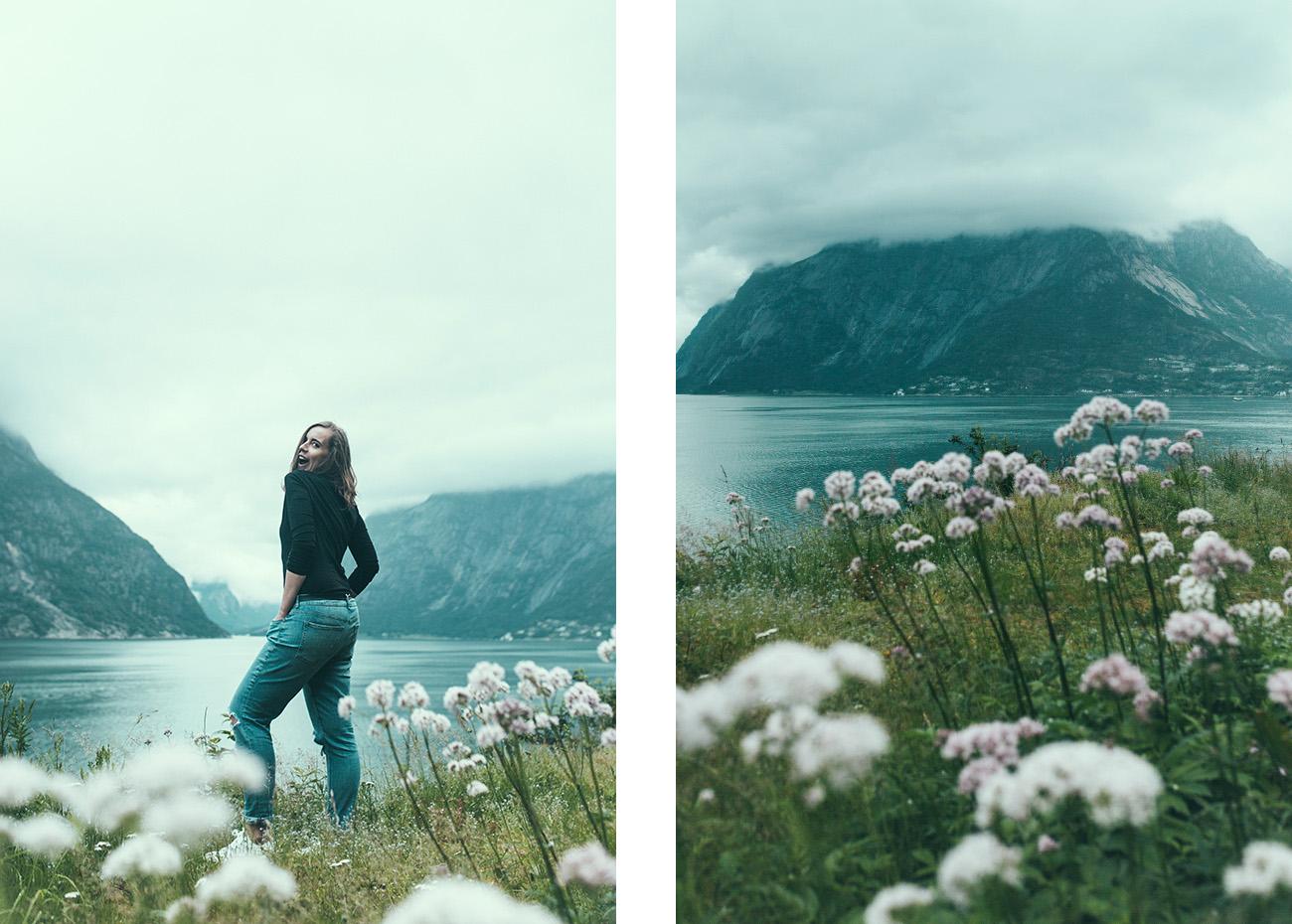 Eidfjorden, Norwegia