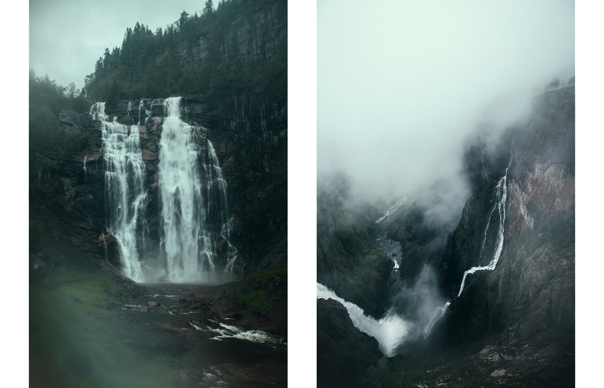 Vøringsfoss i Skjervsfossen, Hardangervidda