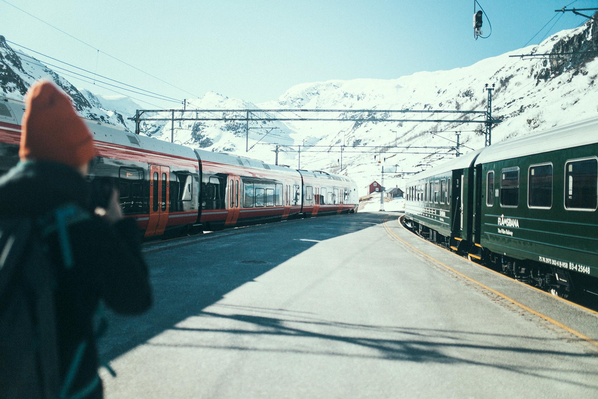 stacja w Myrdal