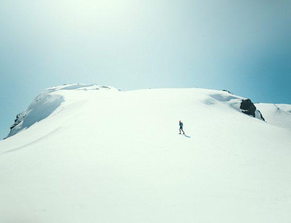 góry nad Myrdalen, kwiecień
