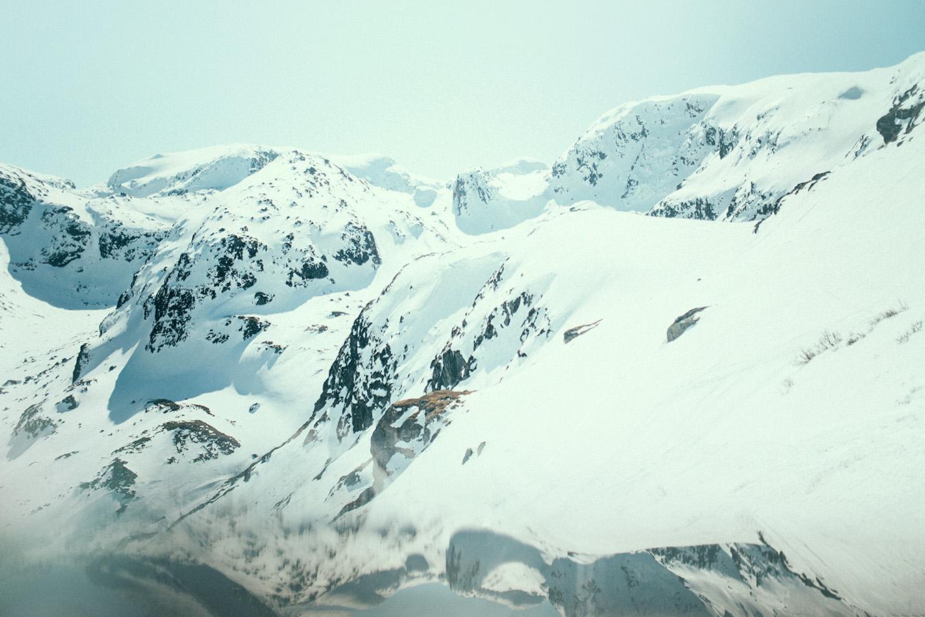 góry w Myrdal