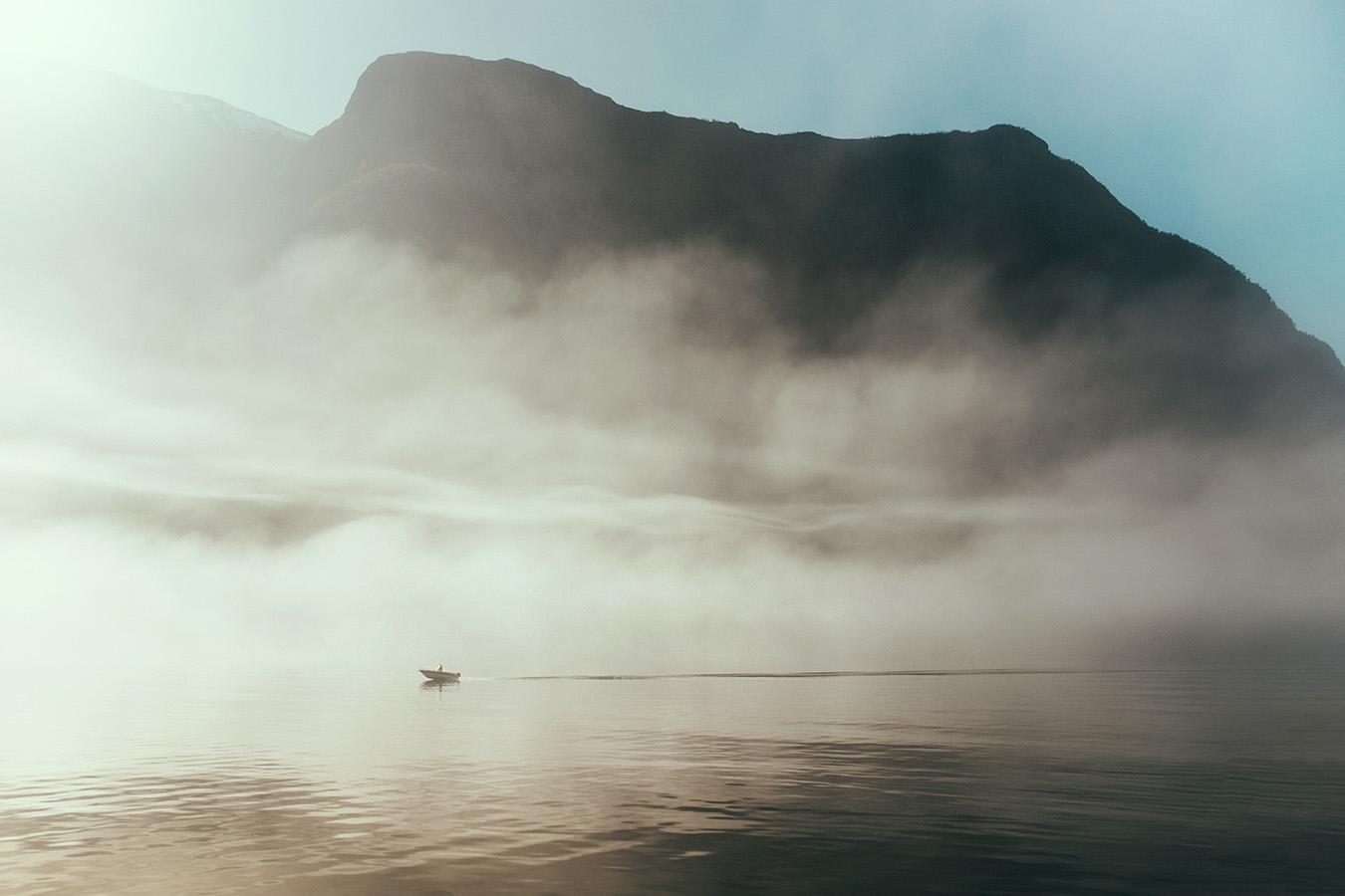 Nærøyfjord, Norwegia