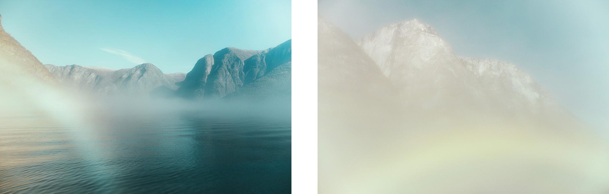 Aurlandsfjord we mgle