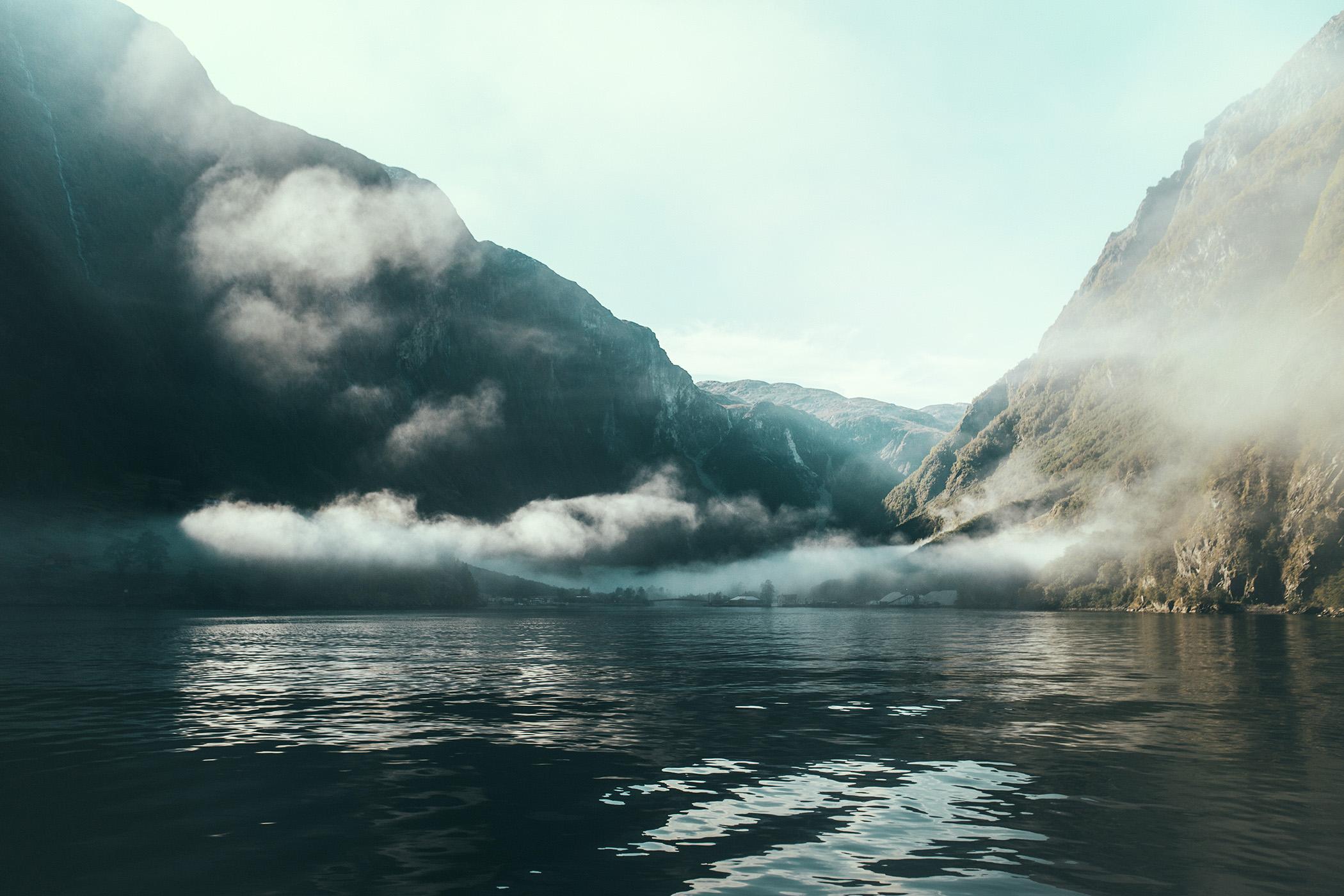 Gudvangen, Nærøyfjord